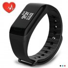 <span style='color:#F7840C'>Smart</span> Bracelet Wristband <span style='color:#F7840C'>Watch</span> Heart Rate Monitor Blood Pressure Fitness Tracker black