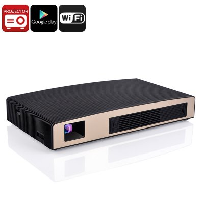 Smart DLP LED WiFi Projector