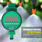 Smart Timer Ball Valve Automatic Electronic Garden Watering Timer Watering Control Device green