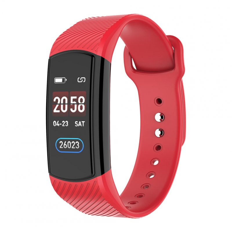 Smart Watch Heart Rate Bracelet Sleep Monitor Blood Pressure Fitness Tracker Multi Sport Band