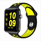 Smart Watch Pedometer Sleep Fitness Tracker IP32 Waterproof Smartwatch for Android IOS Black yellow