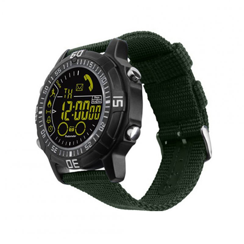Smart Watch Heart Rate Test Green
