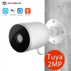 Smart WiFi IP Camera Outdoor Waterproof Wireless 1080P Two Way Audio Tuya Smart Life Motion Sensor U.S. Plug