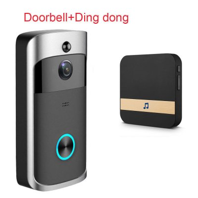 Anytek M3 DoorBell - Black US Plug