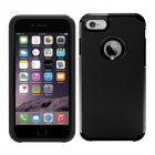 Smooth iPhone7 Case Slim Armor Back Case for iPhone7 Black