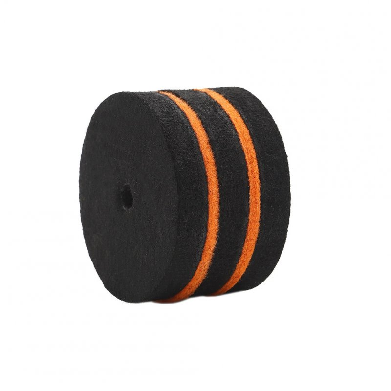 S3 Jazz Drum Parts Drumstick Head Pad Step-on Pure Fret Single Step Hammer Head Drum Accessories Black+orange