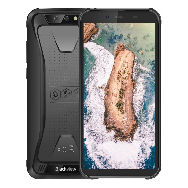 BlackView BV5500 2GB+16GB - Black EU PLUG