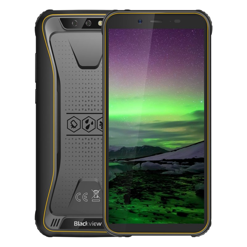 BlackView BV5500 2GB+16GB - Yellow EU PLUG