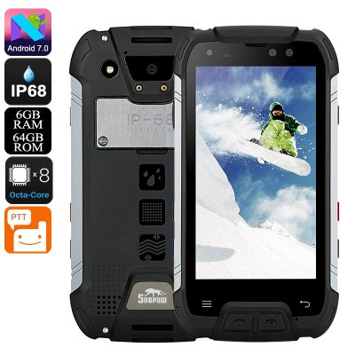 Snopow M10W Rugged Phone (Black)