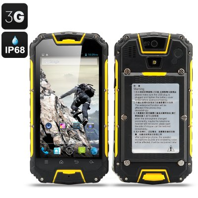 Snopow M9 Rugged Smartphone (Yellow)