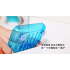 Soap Storage Box Dish Case Makeup Organizer Water Drain Sponge Holder For Kitchen Bathroom Green