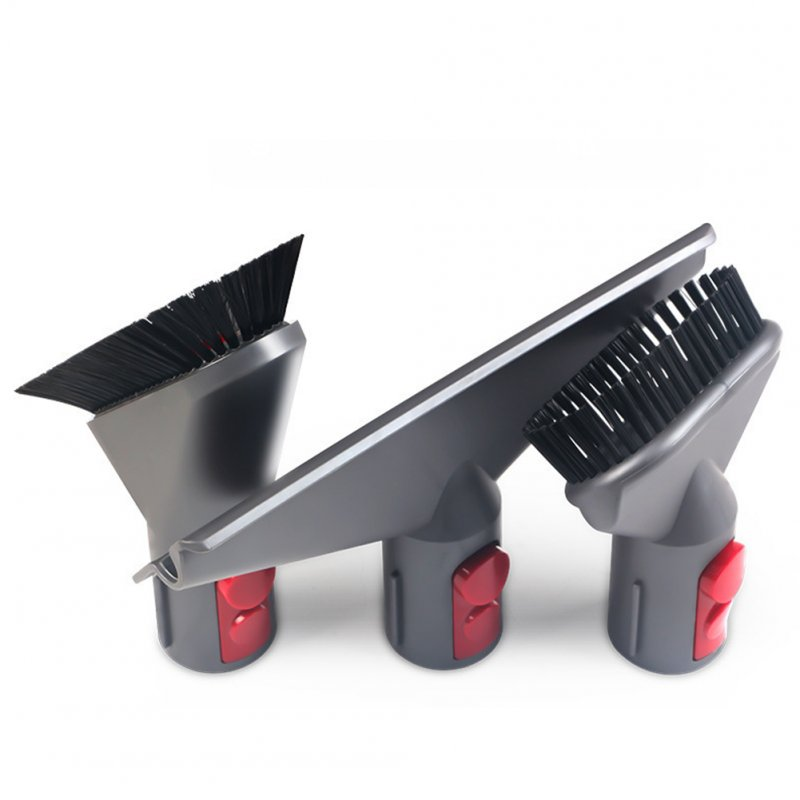 Sofa Dust Cleaning Brush Head for Dyson V7 V8 V10 Vacuum Cleaner Accessaries 3Pcs