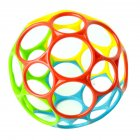 Soft Colorful Ball Toys Touch Bite Caught Hand Oball Ball for Baby Learning Grasping Kids Gift Oball Ball