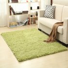 Soft Foam Shaggy Rug Non Slip Bedroom Memory Mat Batn Bathroom Shower Carpet Colors:Gray 50*80cm/1.6*2.6ft green