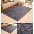 Soft Foam Shaggy Rug Non Slip Bedroom Memory Mat Batn Bathroom Shower Carpet Colors Gray 50 80cm 1 6 2 6ft gray