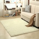 Soft Foam Shaggy Rug Non Slip Bedroom Memory Mat Batn Bathroom Shower Carpet Colors:Gray 50*80cm/1.6*2.6ft beige