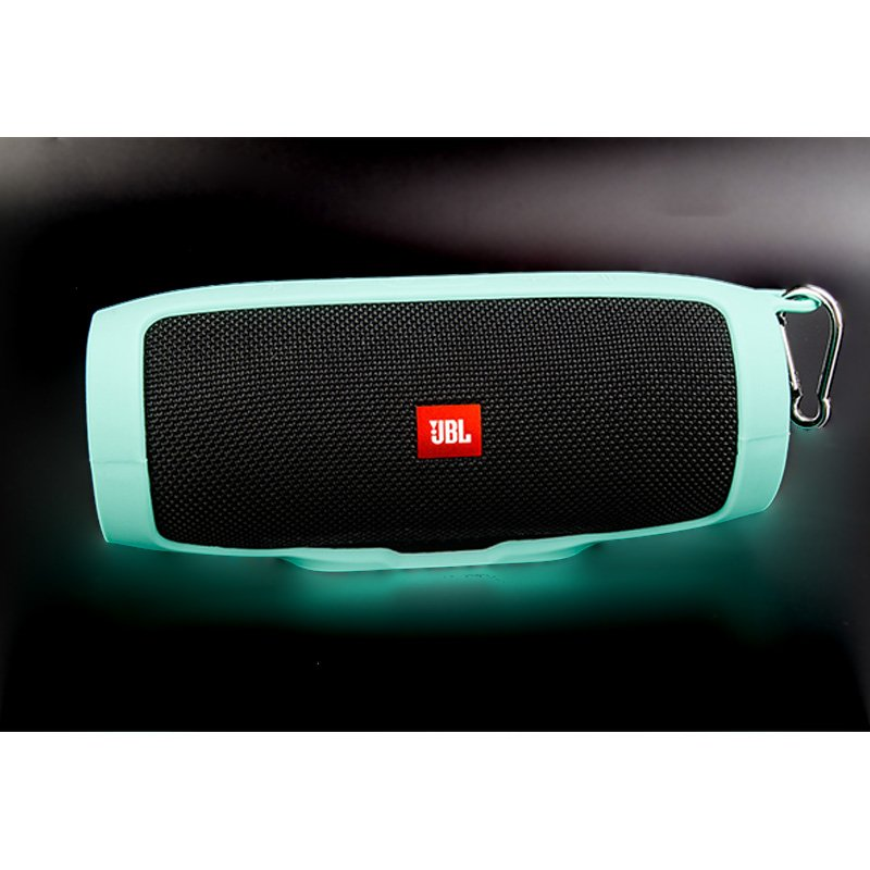 Soft Silicone Case Shockproof Waterproof Protective Sleeve for JBL Charge3 Bluetooth Speaker  green