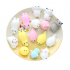 Soft Squishy Pets Cute Lovely Chubby Animal Toys Stress Relief and Fun Play Toy for Kids and Adults   Pink cat