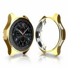 Soft TPU Protector Watch Case Cover for Samsung Galaxy Watch 42mm 46mm Gold_46mm