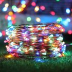 Solar Copper Wire String Light with 8 Modes 10M 20M 30M 100LED 200LED 300LED