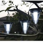 Solar Light Outdoor Waterproof Garden Decoration Hanging Lamps Night Light White light_2.4W