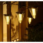 Solar Light Outdoor Waterproof Garden Decoration Hanging Lamps Night Light warm light_2.4W