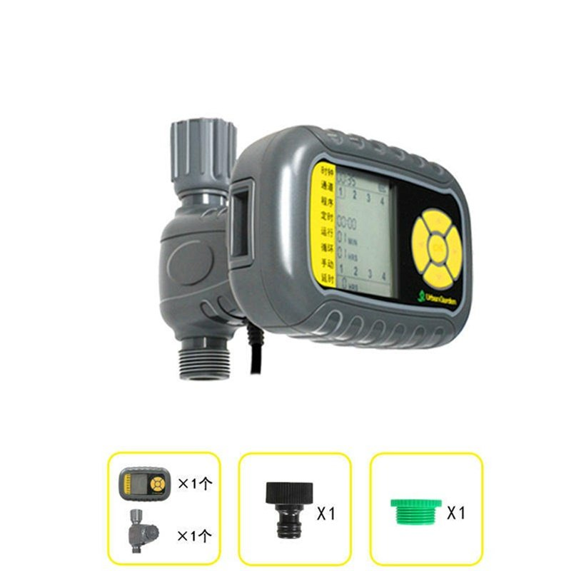 Solar-Powered Automatic Water Sprayer Smart Irrigation Timer Outdoor Sprinkler System Water Sprayer