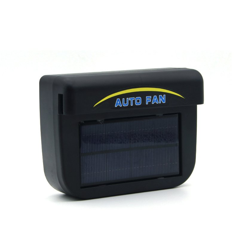 Solar Powered Car Air Vent Cool Fan Auto Cooler Ventilation System Exhaust Fan large