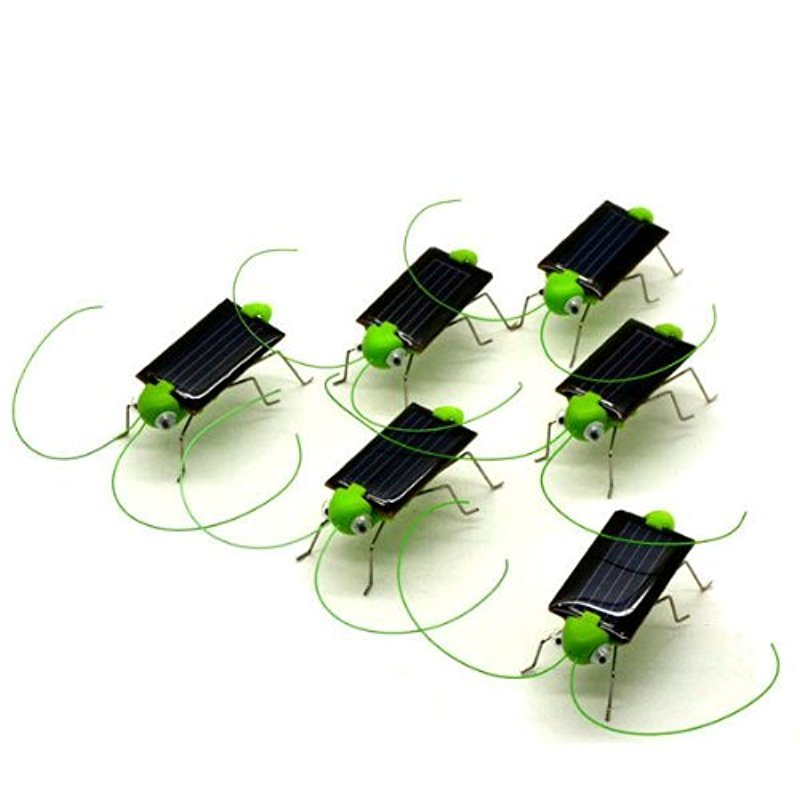 Solar Powered Grasshopper 5 pieces/pack by YIDEA