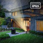 Solar Powered Lawn Light Outdoor Landscape Patio Garden Spotlight Lamp  3W white light (6000K)