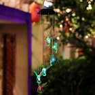 Solar Wind Chimes Led Light Color Changing Garden Yard Decoration
