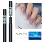 Solid Powder Air Cushion Magic Pen Nail Art Magic Mirror Effect Phantom Nails Pen Manicure Tools Aurora Mirror 06