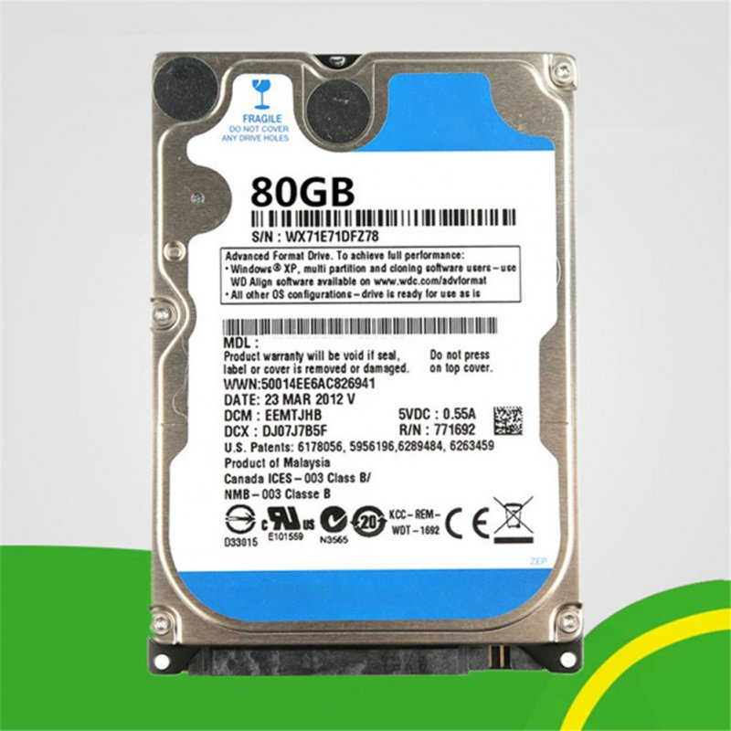PC Hard Drive HDD 80GB
