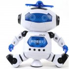 Space Dance Electric Robot with Light Music Toy for Kids