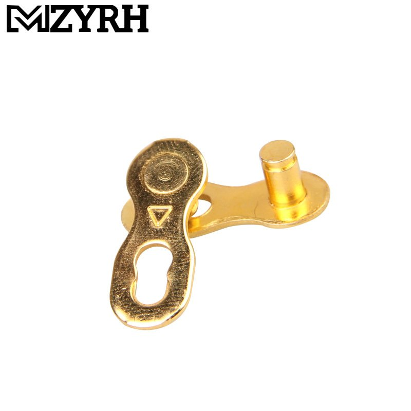 Speed Bike Chain Connector Lock Set Road Bicycle Connector Link Joint Chain Bike Parts Golden 8 speed