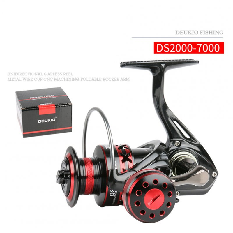 Spinning Fishing Reel Metal Front Drag Handle Spool Saltwater Fishing Accessories DS4000