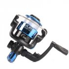Spinning Reel 3 Axis 5 2 Left Right Hand Swap High Speed Fishing Reel with 40M Fishing Line