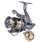 Spinning Reel Fishing Reel Metal Knob Metal Large-capacity Spool Rock Sea Fishing Reel AR4000