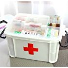 Splendid-Dream Medicine Storage Box Multilayer/medicine Cabinet 33*24*19cm