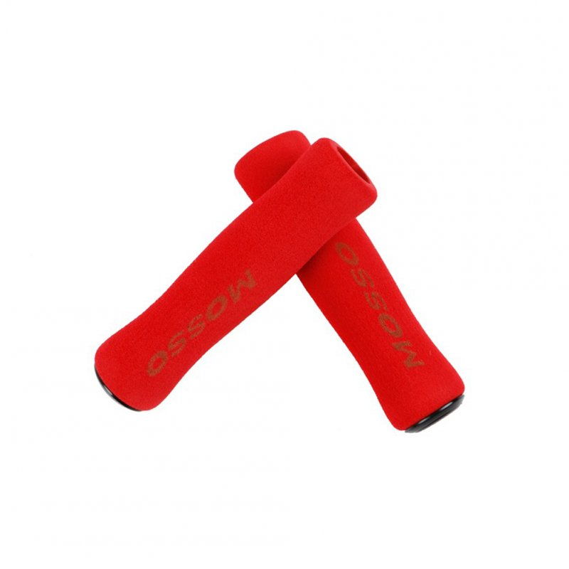 Sponge Handle Cover Road Bicycle Mountain Bike Bicycle Anti-slip Grip Cover red