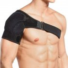 Sport Bandage Shoulder Proterction Adjustable Shoulder Belt Shoulder Protector black