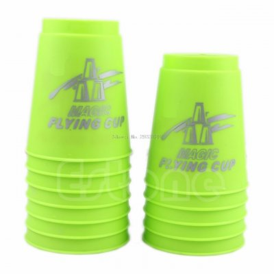 Sport Flying Stacking Luminous Cups Set