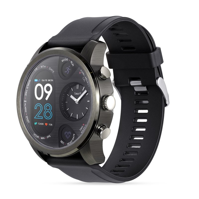 Fitness Activity Tracker Smartwatch Black