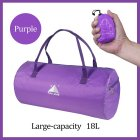Sport Training Gym Bag Wearable foldable travel bag Waterproof bags Outdoor Sporting Tote sport bag purple_18 inches