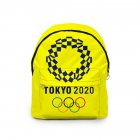 Sports Backpack 2020 Tokyo Olympics Print Casual Bags P_Free size
