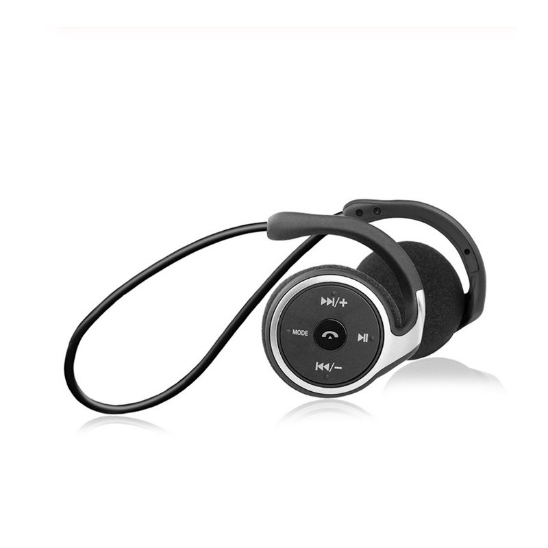 Sports Bluetooth Headphones Suicen AX-698 Support 32G TF Card FM Radio Portable Neckband Wireless Earphones Headset Auriculars black