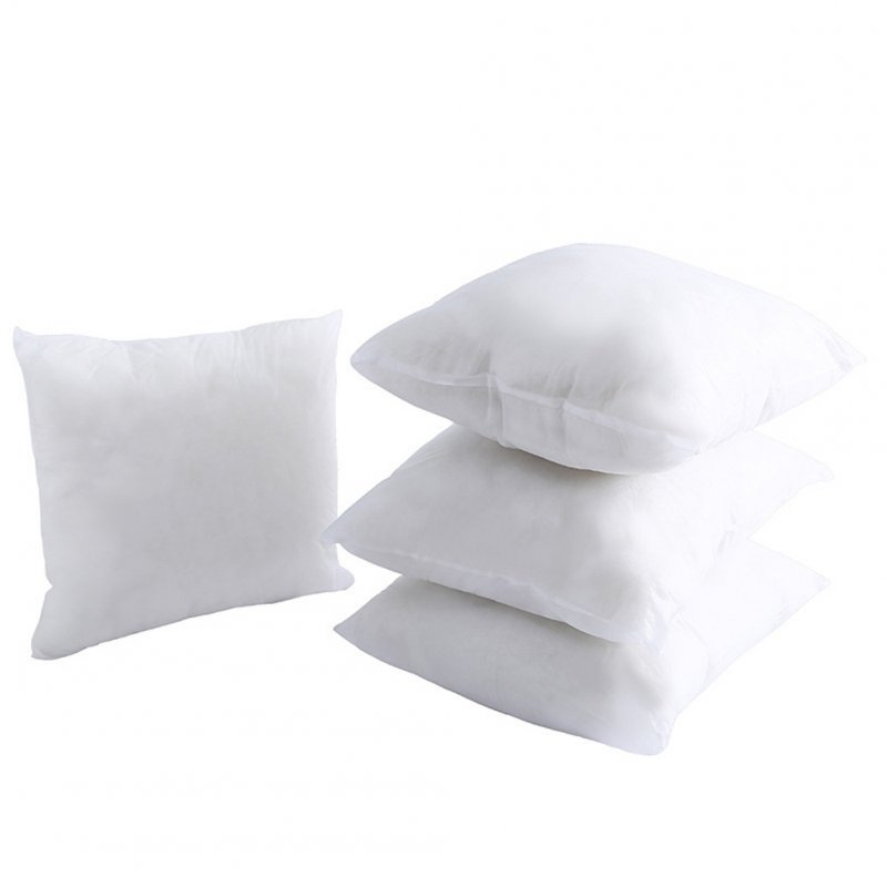 Square PP Cotton Pillow Inner with Non-woven Cover for Throw Pillow 45X45cm