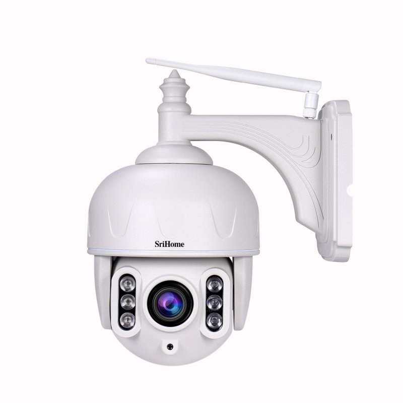 Sricam 1080P Outdoor Waterproof 5X Zoom Network Dome Camera 40m Infrared Night Vision Remote Surveillance Camera  EU plug