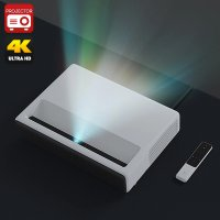 HK Warehouse Xiaomi Mi Laser Projector - 1080p Native Resolution, 4K Support, Quad-Core, ALPD 3.0 Laser Light Source, 5000 lumen