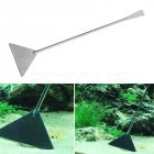 Stainless Steel Flat Sand Shovel Long Handle Fish Tank Maintenance Anti Rust Aquarium Landscaping Tool Photo Color